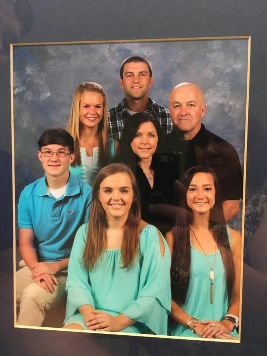 The Hiatt family includes father Matthew; mother Telia; son Jacob and wife Brandi; son Dalton; and daughters Jenna and Emilee.