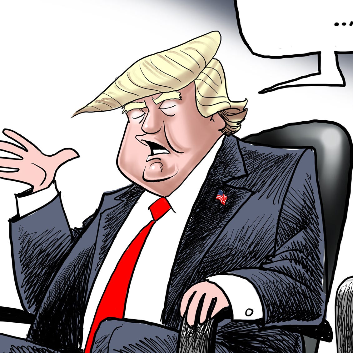 Cartoonist Gary Varvel: Trump rips Jeff Sessions: 'I don't have an attorney general'