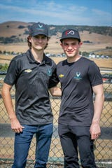 The faces of the newly formed Harding-Steinbrenner Racing, Colton Herta and Patricio O'Ward.