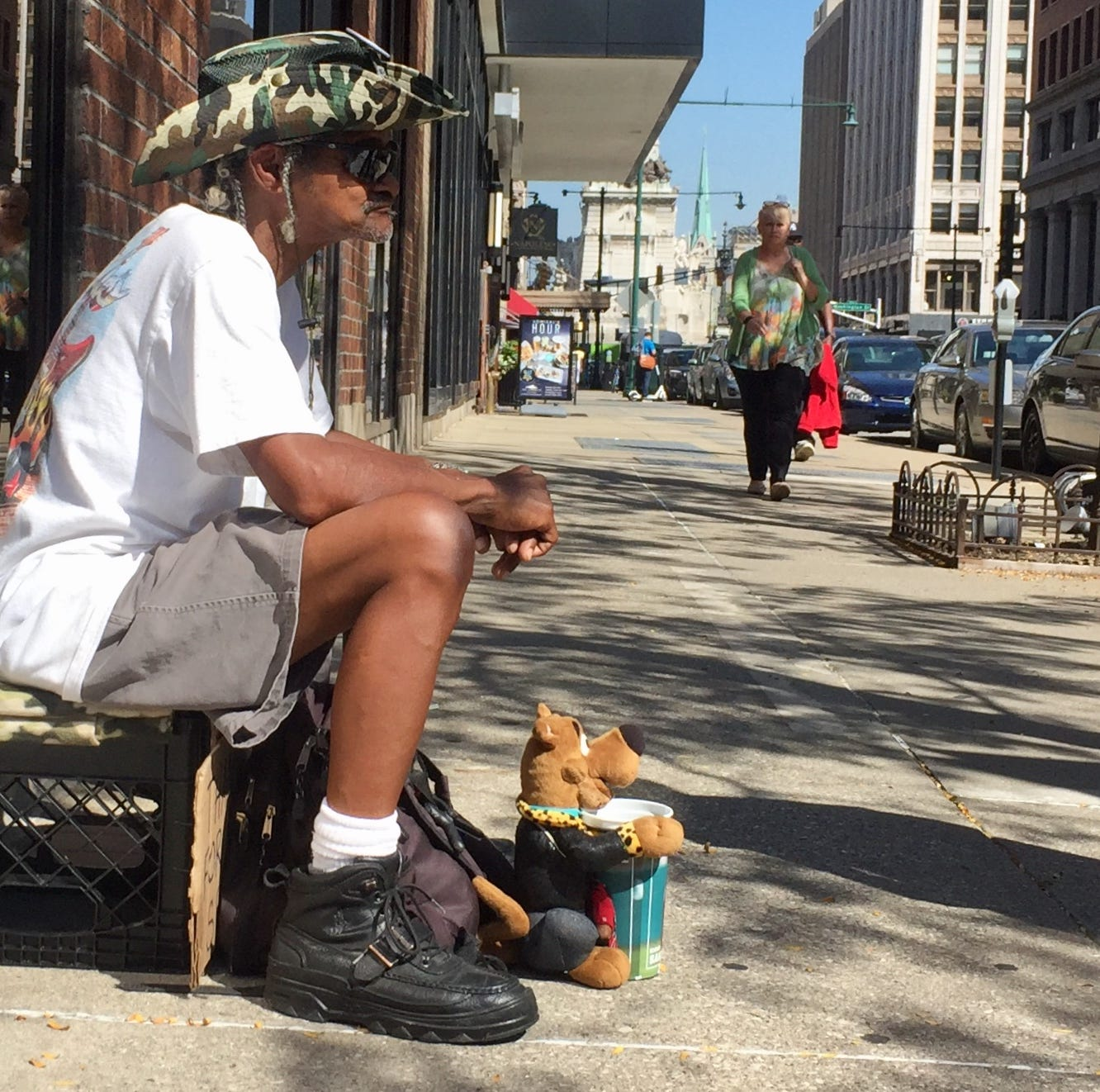 Swarens: Why Indianapolis proposal to stop panhandling won't work