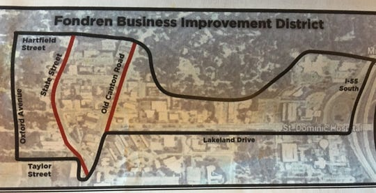 A Fondren Business Improvement District would add a special tax to existing property taxes that businesses in the district already pay. The money would be funneled into upgrades to the district area. The Jackson City Council will vote on whether to send paper ballots to business owners in the district to vote on the additional tax.