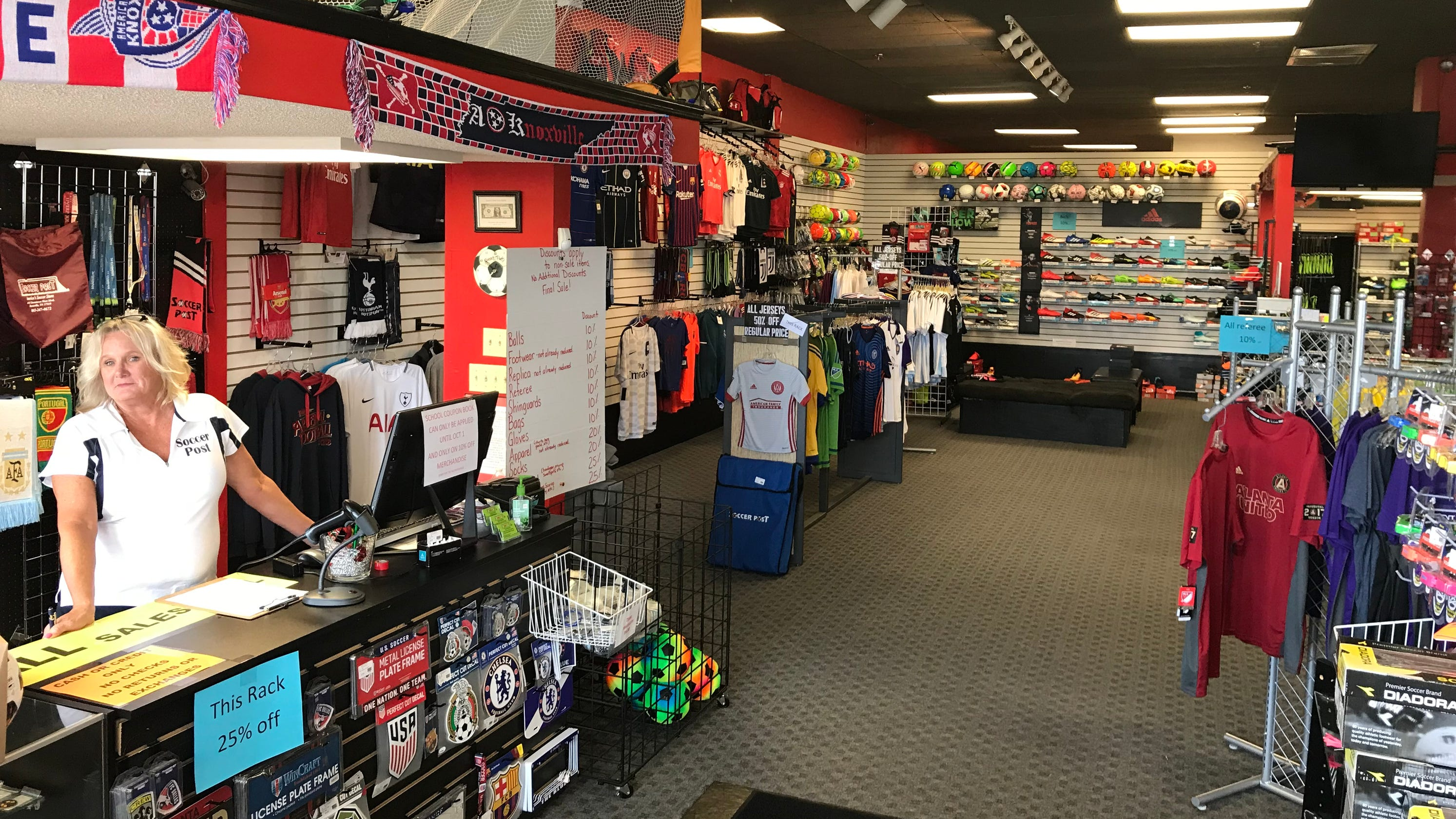 64fc87ad9c4 Knoxville's Soccer Post closing after decade of supplying young players