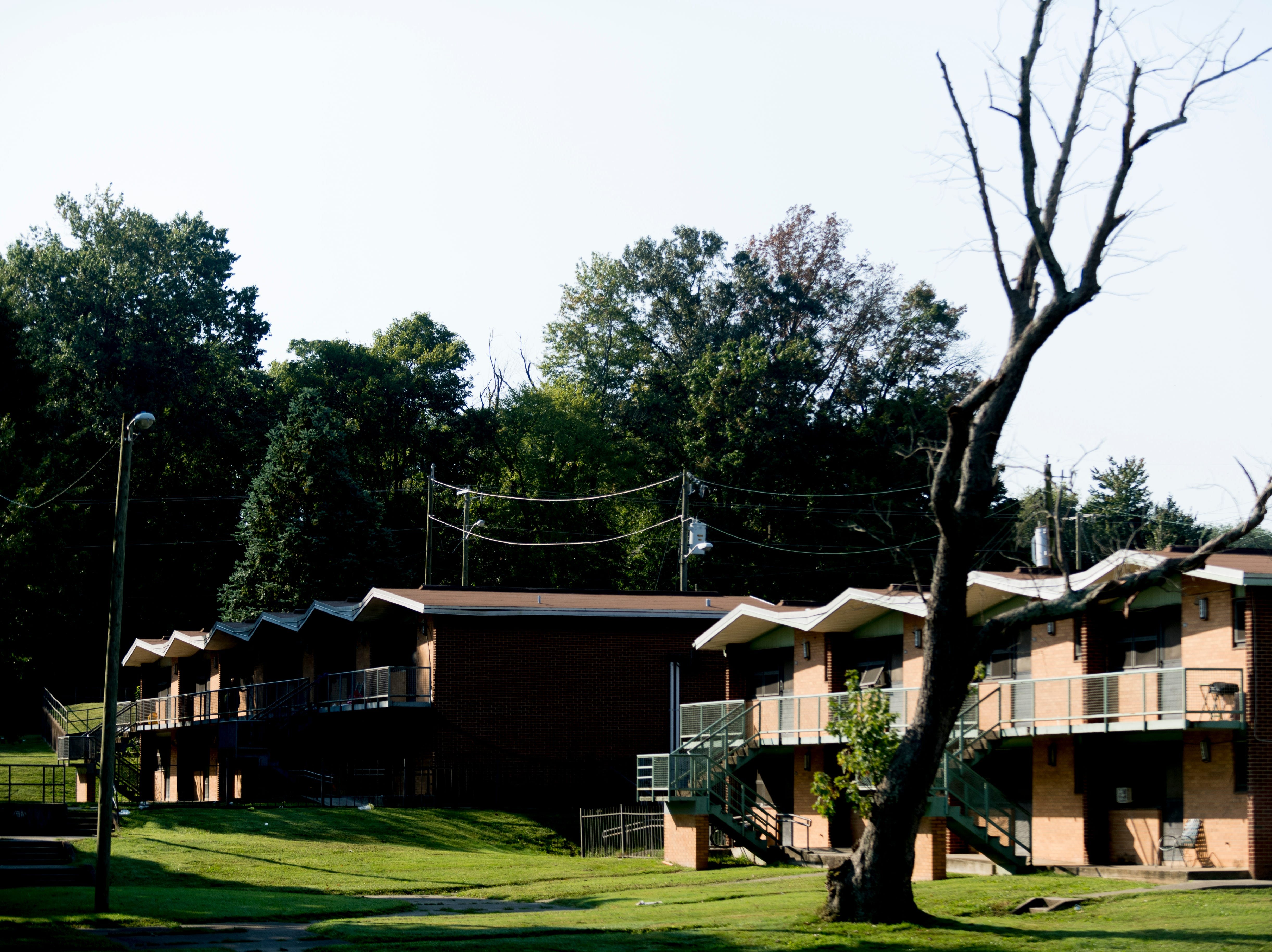 The Walter P. Taylor Homes in Knoxville, Tennessee on Wednesday, September 19, 2018. The 10-building, 84-unit affordable housing complex has been part of Mayor Rogero's focus on affordable housing.