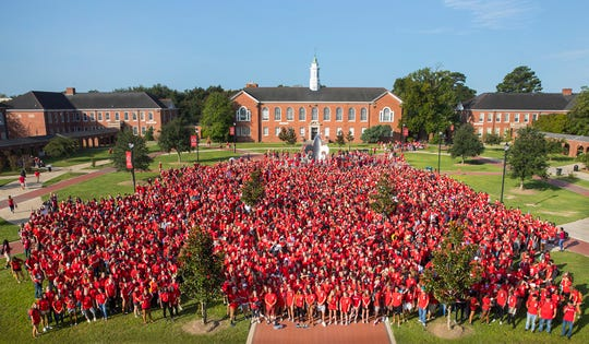 A total of 19,387 students registered for the fall 2018 semester at the University of Louisiana at Lafayette.
