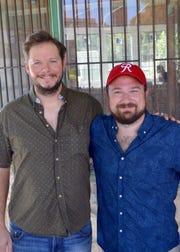 Chef Jeremy Conner (left) and Stephen Verret