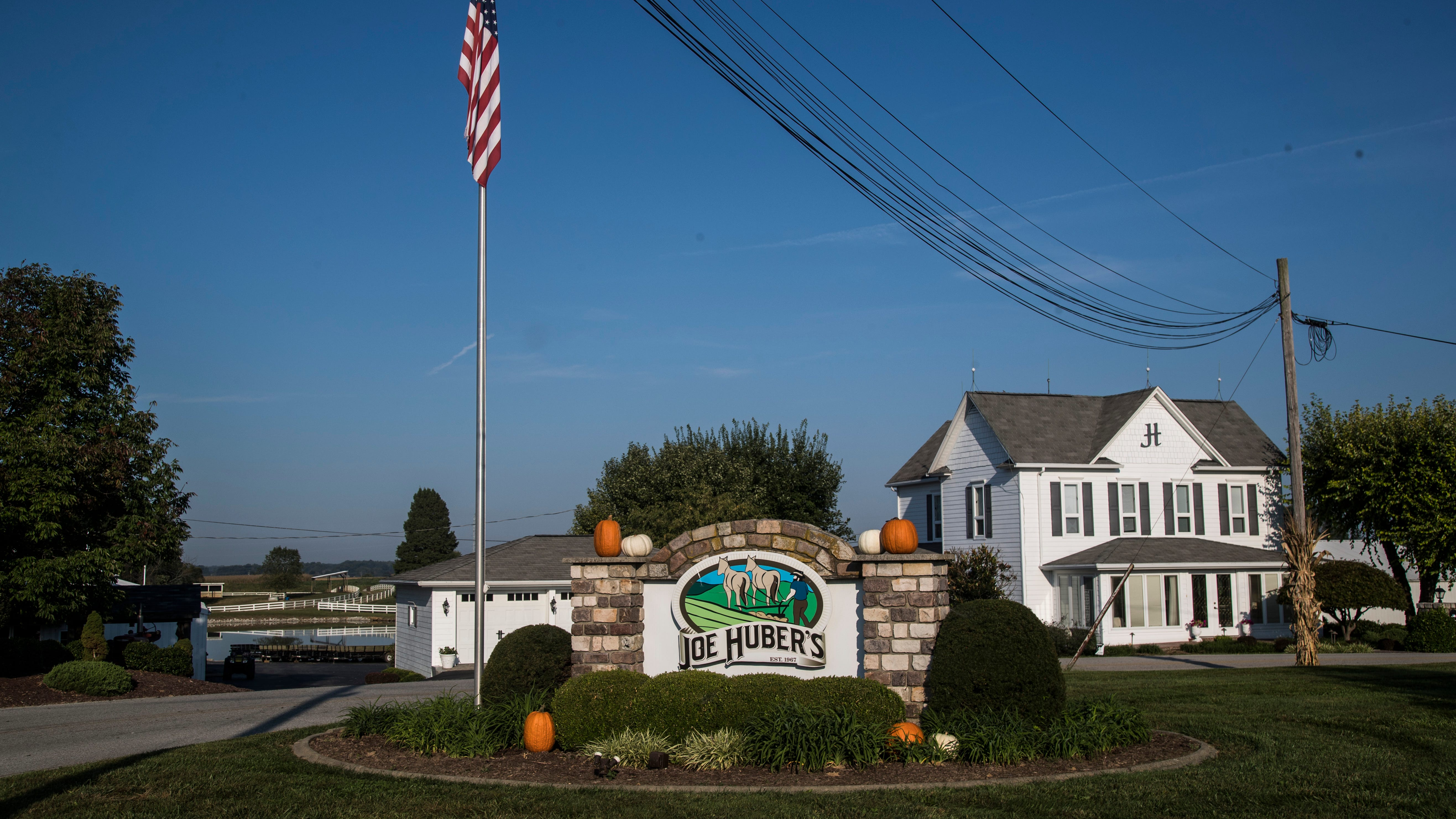 Family feud was behind decision to put Joe Huber's farm up for auction