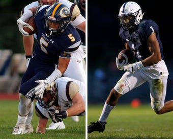 The LSJ Game of the Week for Week 5 features a matchup of Division 3 powers as No. 2 DeWitt plays No. 3 East Lansing on Friday night.