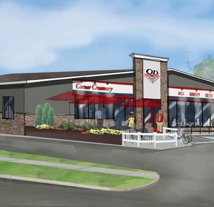 Quality Dairy's new concept: patios, drive-thru windows