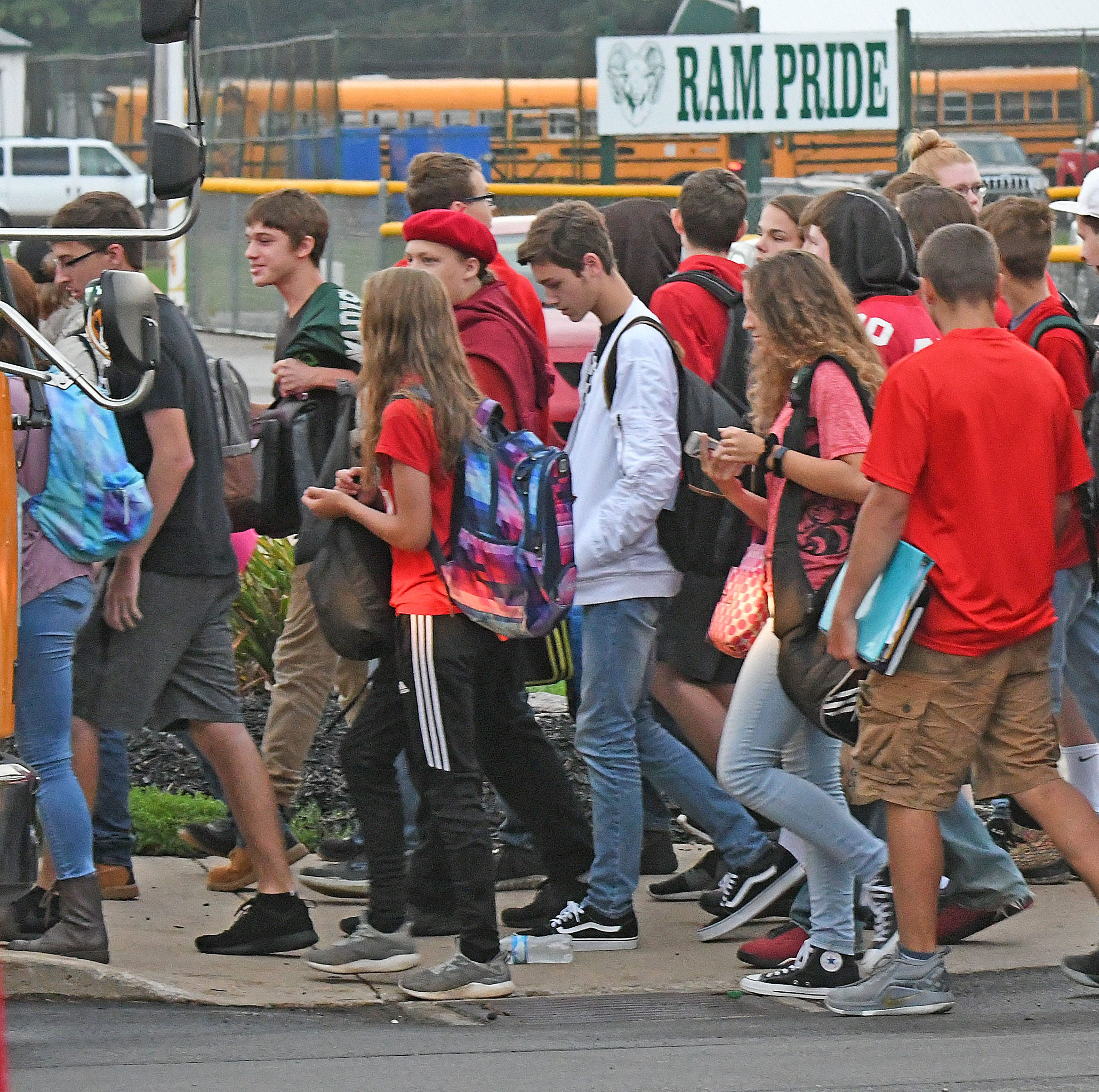 Madison students protest against Superintendent Hilderbrand