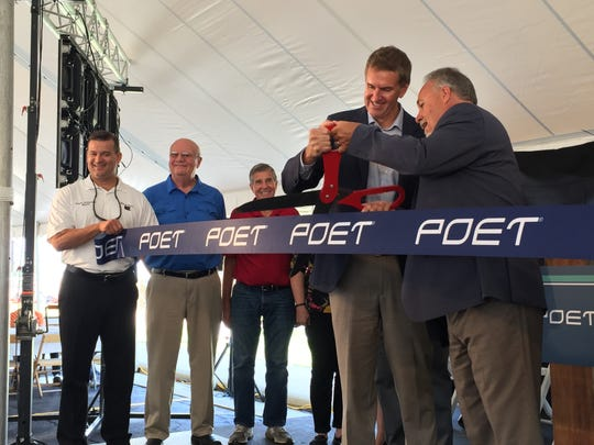 POET Biorefining opens its $120 million expansion Wednesday, a project that has more than doubled the ethanol plant's production capacity from 70 million gallons of ethanol to 150 gallons.