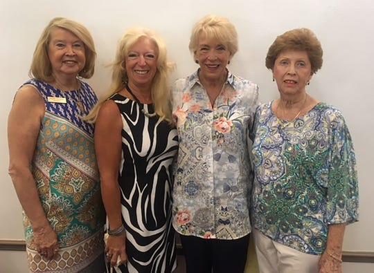President-Rachel DeHanas, VP Rose Kraemer, Secretary Litha Berger and Treasurer Judy Stavola.