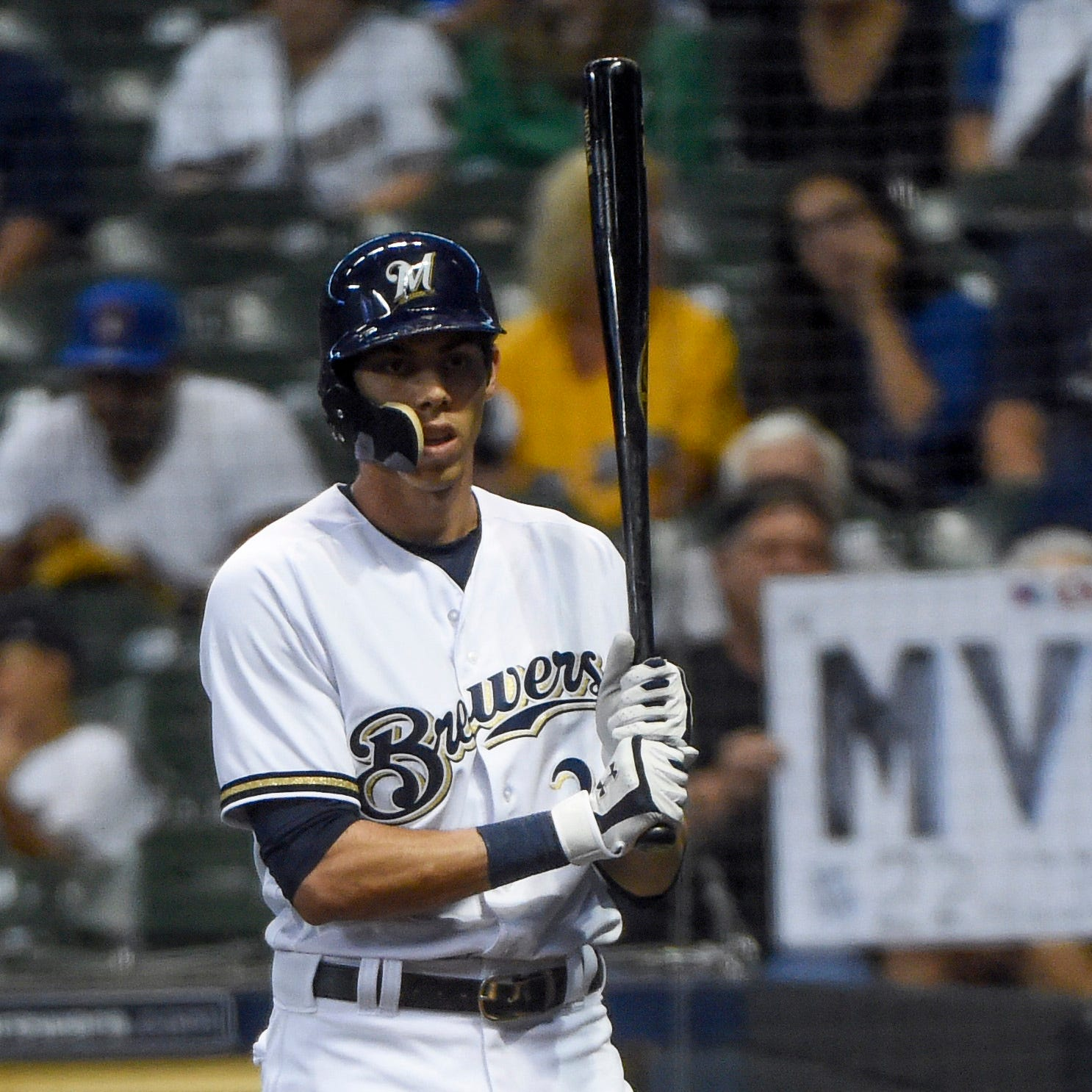 Brewers' Christian Yelich put himself firmly in NL MVP discussion by doing 'special things'