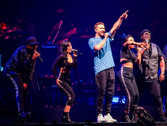 """Justin Timberlake's """"Man of the Woods"""" tour was the third highest-grossing North America tour for the first half of 2018, according to Pollstar. It comes to Fiserv Forum Friday."""