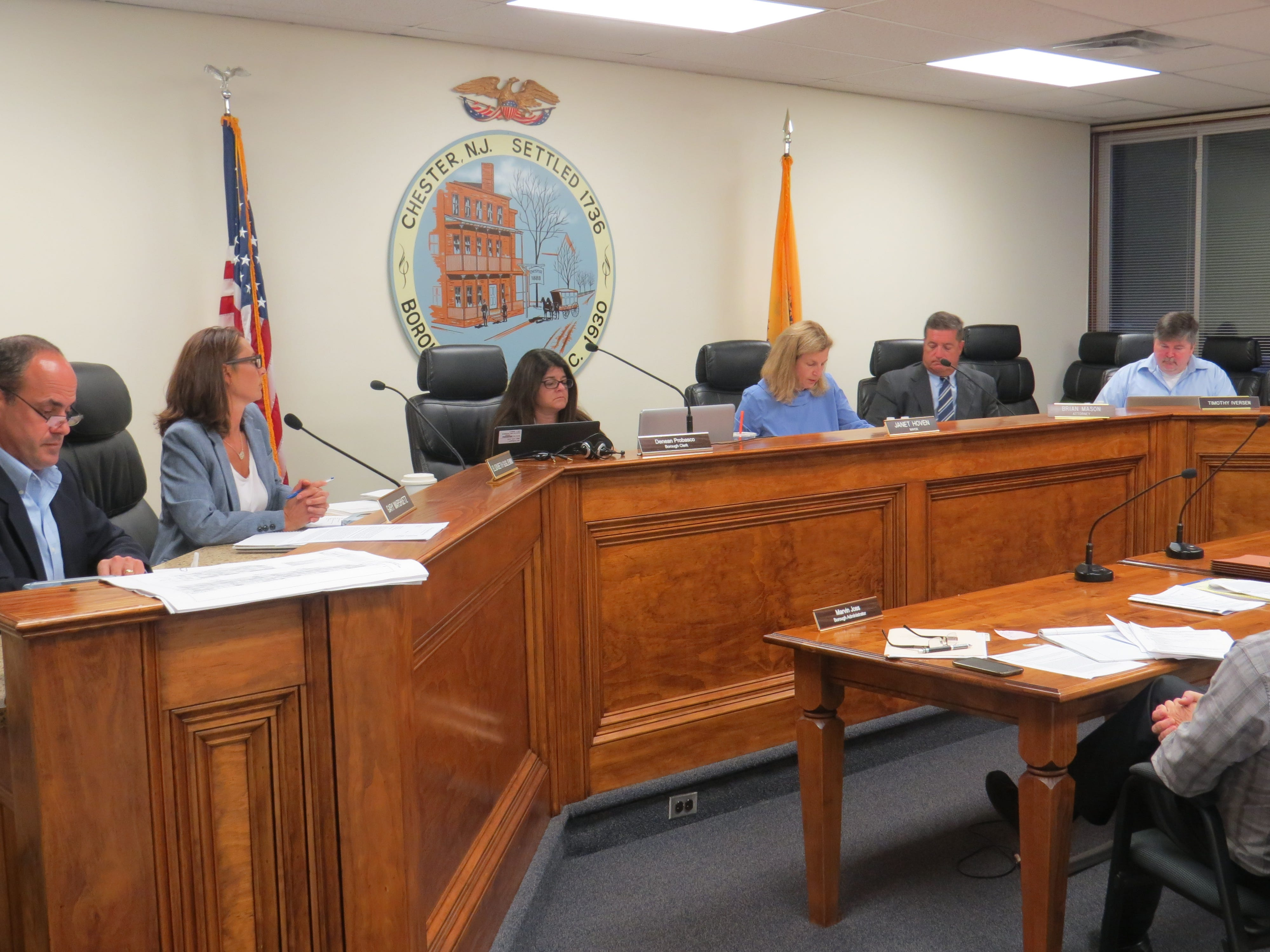 The fate of the Larison's Turkey Farm property was discussed at the Chester Council meeting on Sept. 18, 2018.