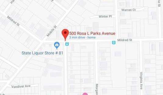 Rosa Parks Avenue Homicide