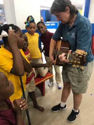 Music education workshops are an important part of Montgomery Area Musicians Association's mission.