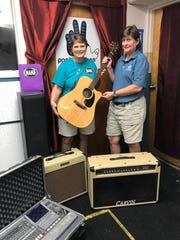 Instruments donated to MAMA's music education programs.