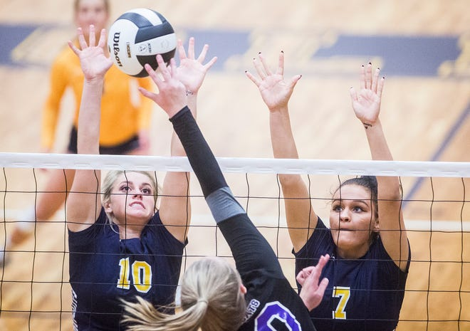 Delta defeated Central 3-0 during their game at Delta High School Tuesday, Sept. 18, 2018.