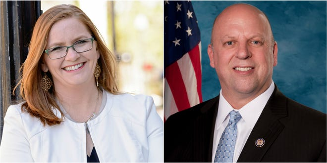 Mariah Phillips and Rep. Scott DesJarlais
