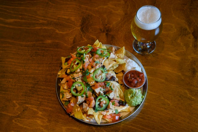 The five best nachos in Nashville, the No. 1 is chicken nachos at the M.L.Rose in Nashville, Tenn., Wednesday, Sept. 19, 2018.