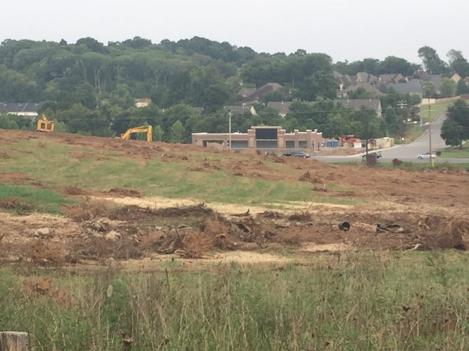 Work has started on a new high school in Mt. Juliet. Wilson County voters will decide Nov. 6 on a half-cent sales tax increase, with proceeds to go toward education.