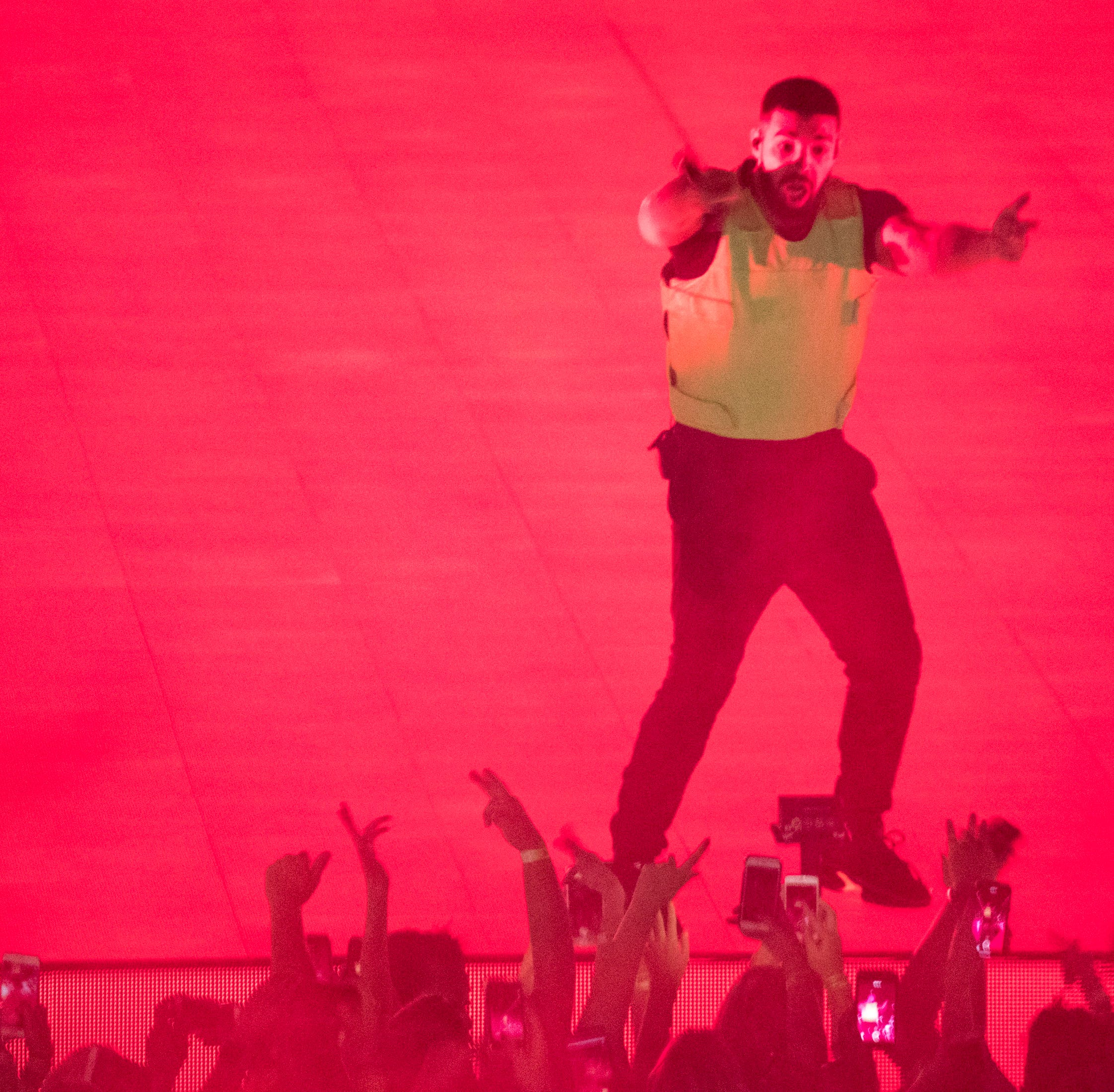 Drake at his concert: 'I'm so happy to be home'