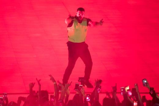 Drake concert: Nashville setlist, review of Aubrey and Three