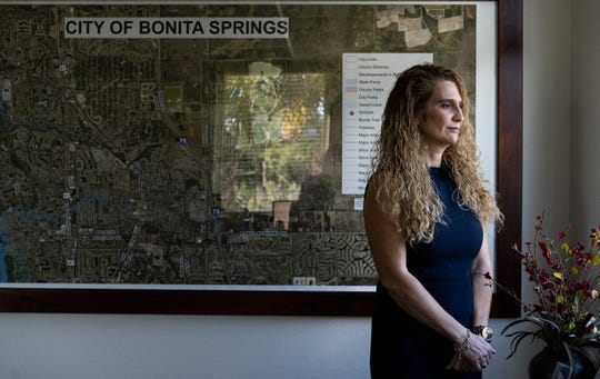 """Excited and nervous for the big opportunity, Arleen Hunter, leads the city of Bonita Springs with a smile on her face as the community's new City Manager. Hunter grew up loving government. After taking a class about city management and planning in college, Hunter found herself falling in love with the subject. In 2005, when she joined the Bonita City Hall with special events, she said never imagined that one day she would be sitting in the City Manager's chair. """"People make it [the job] interesting for me,"""" Hunter said."""