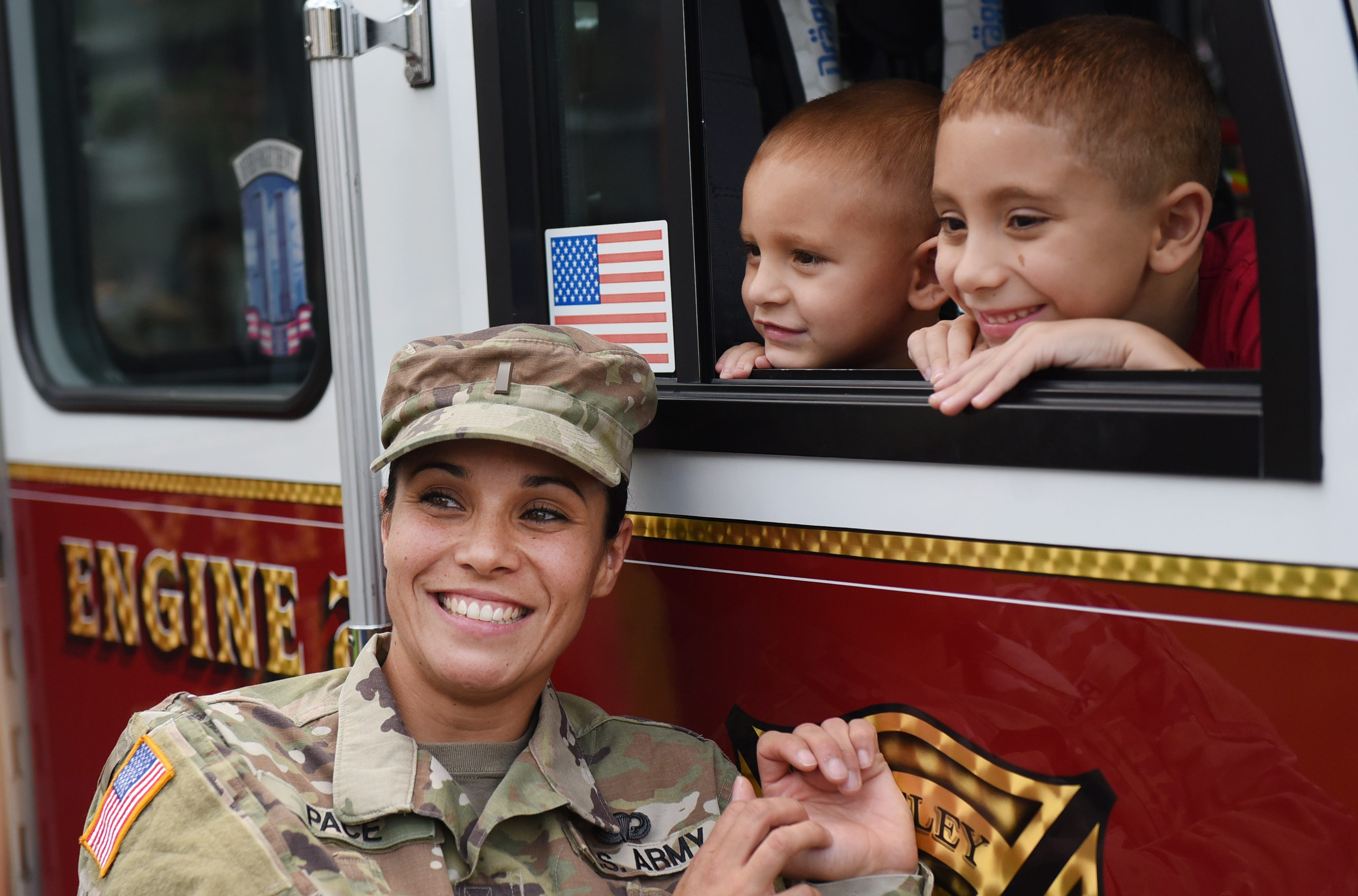 These Military Kids Had the Sweetest Reunion After Being Apart for 17 Months