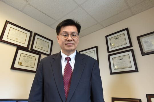Raymond H. Wong, activist with the Asian American Coalition for Education, one of the main organizations that has alleged bias against Asian Americans in college admissions