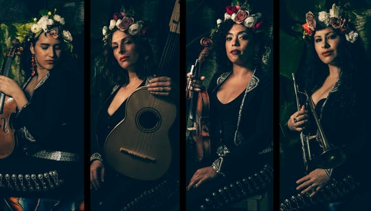 Flor de Toloache, a mariachi band, will be appearing in HACPAC's PAC the House series