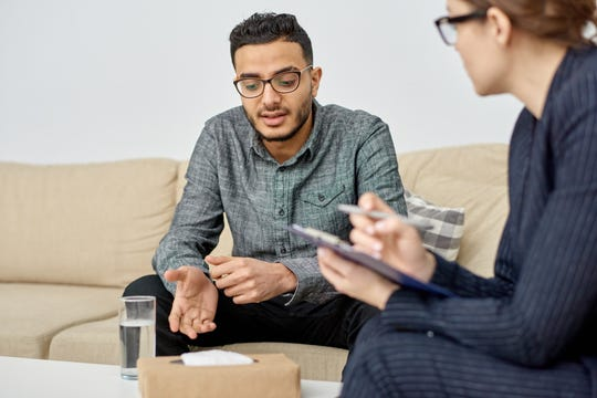Talking to a therapist or mental health counselor can help people dealing with different types of anxiety.