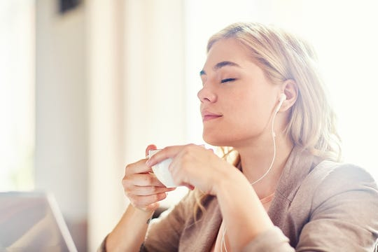 Taking a time-out to listen to music, meditate or practice relaxation techniques can help ease feelings of stress and anxiety.