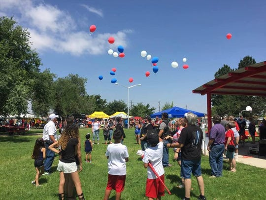 Eunice's 2018 Fourth of July celebration at Marshall Park.