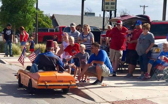 Eunice's 2018 Fourth of July parade.