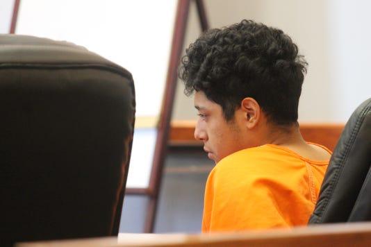 Jonathan Garcia in court