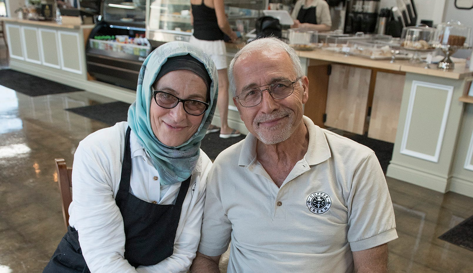 Emily Zahr and Anwar Zahr opened the shop in the late August. Some of the treats are baked in-house.