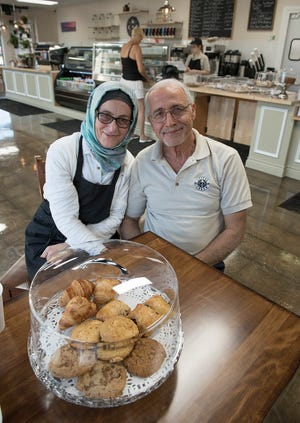 Emily Zahr and Anwar Zahr opened the shop in mid-August. Some of the treats are baked in-house.