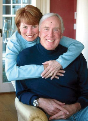 Pete Dawkins, shown with his late wife Judi, has enjoyed a remarkable life that was greatly influenced during his days at Cranbrook High School.