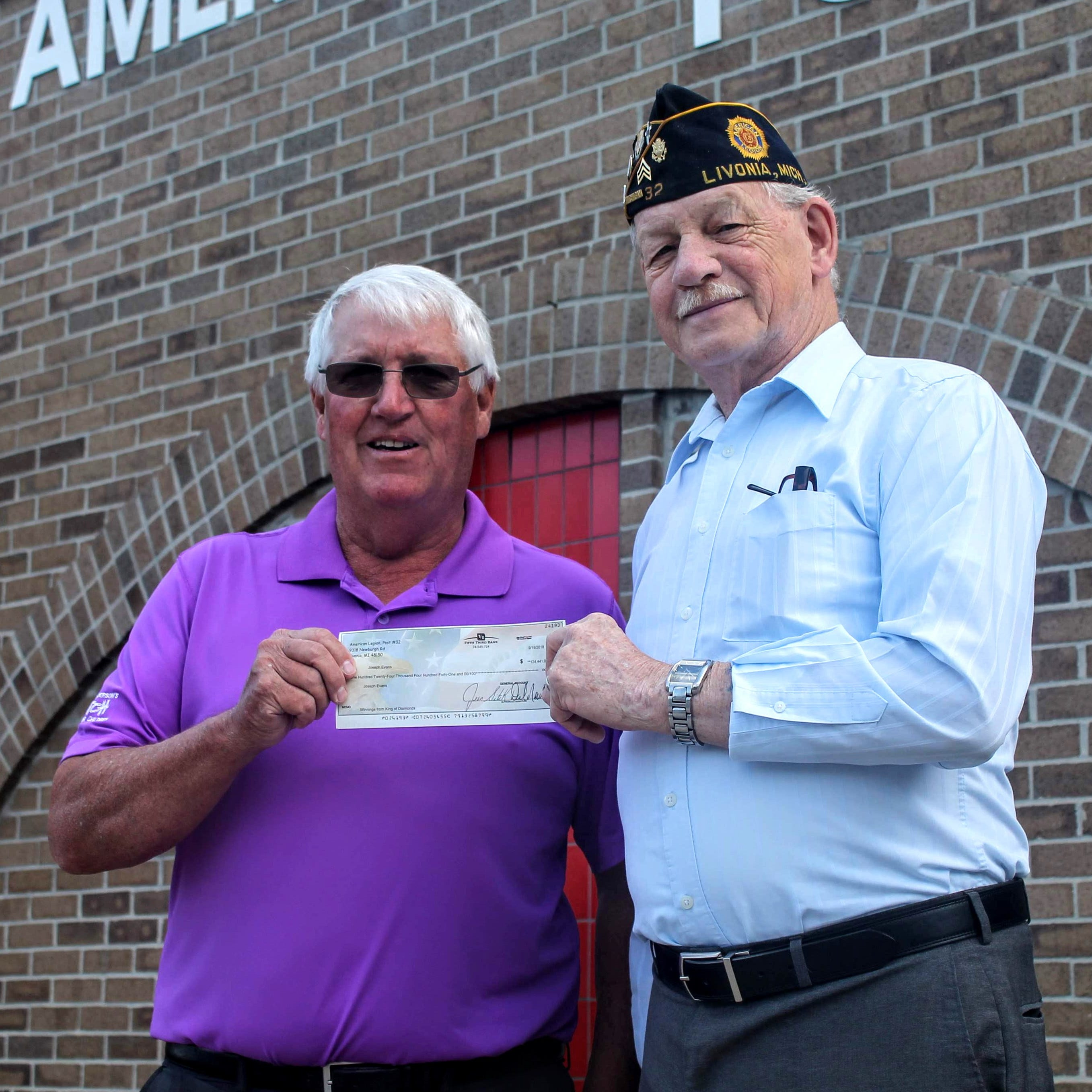 King of the draw: Northville man takes home $124K in Livonia American Legion Post lottery