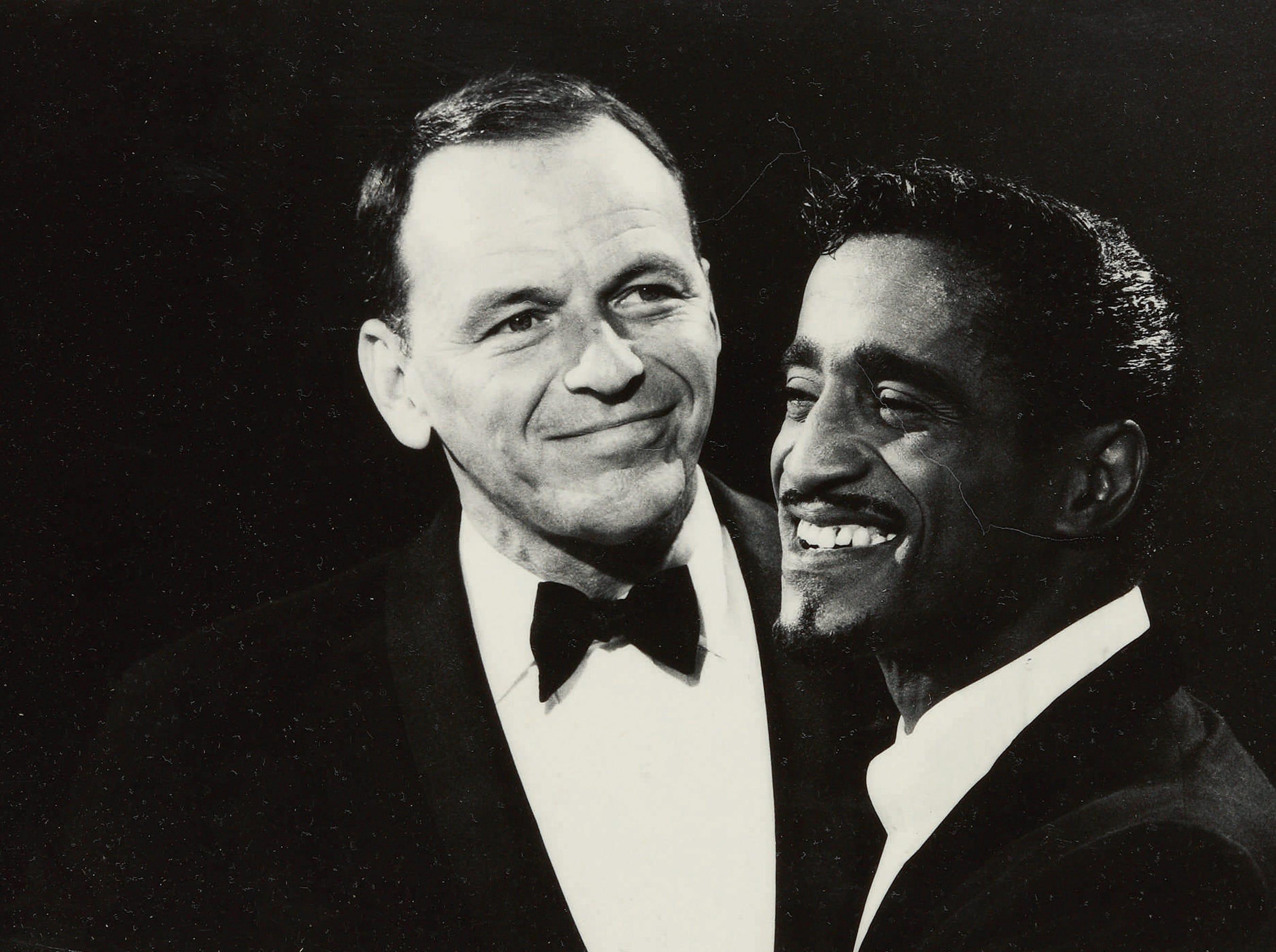 Frank Sinatra and Sammy Davis