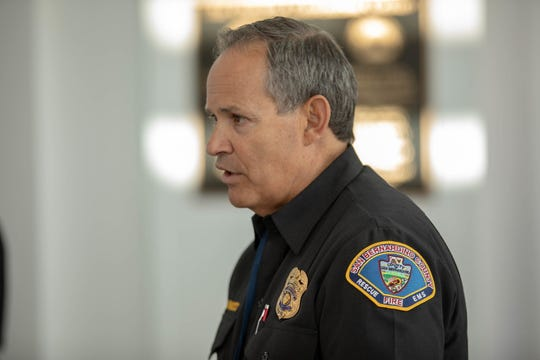 Michael Antonucci, Manager of Office of Emergency Services in San Bernardino County.