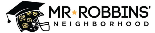 Mr. Robbins' Neighborhood logo.
