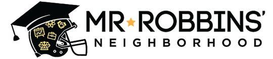 Mr. Robbins' Neighborhood logo.