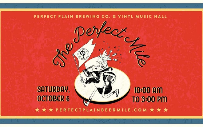 The Perfect Mile beer run and block party consists of a beer-drinking relay race, art vendors, food trucks and two live performances on Garden Street between Palafox and Tarragona.