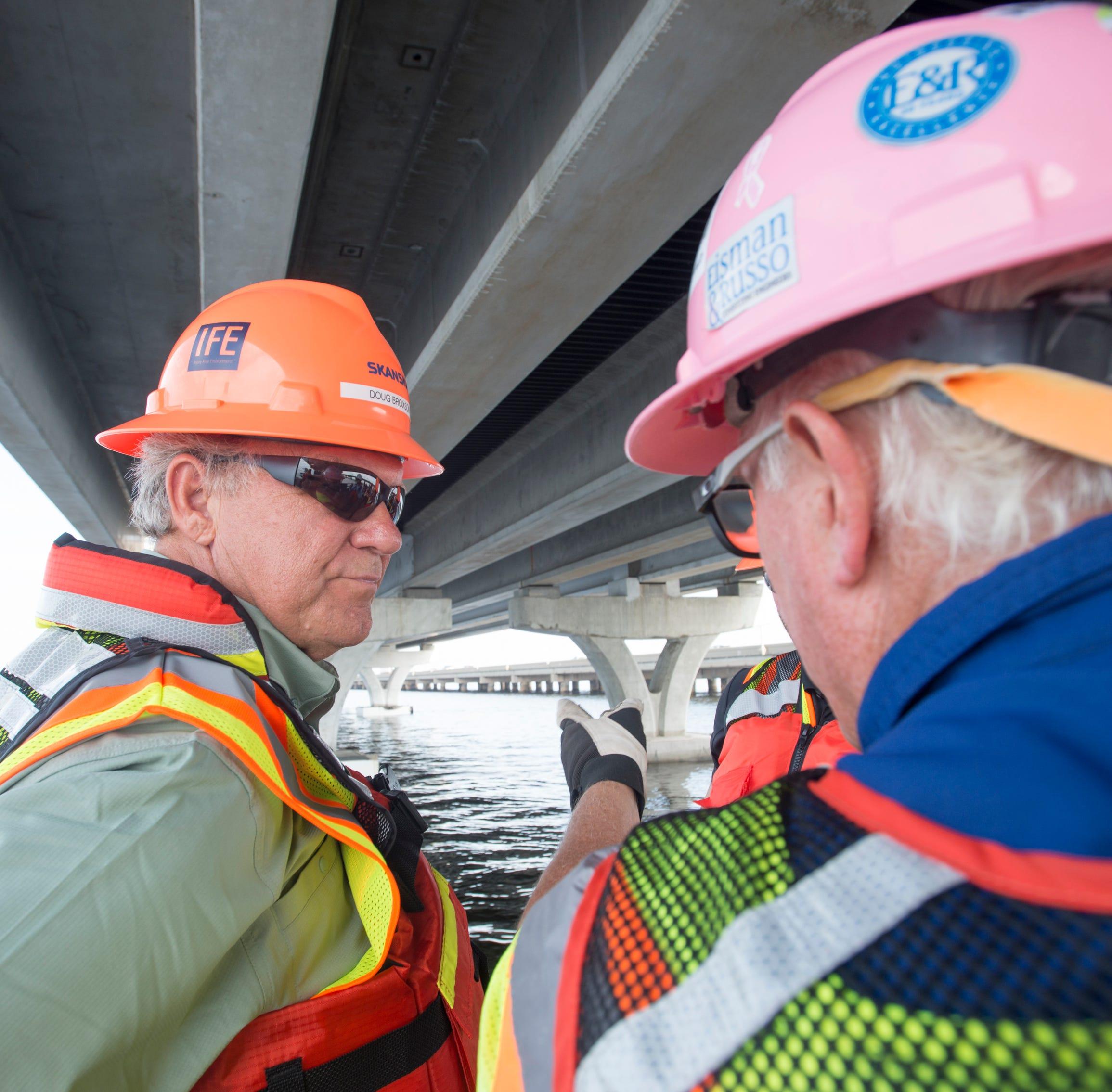 Senator seeks to reassure public about cracking on new Pensacola Bay Bridge surface