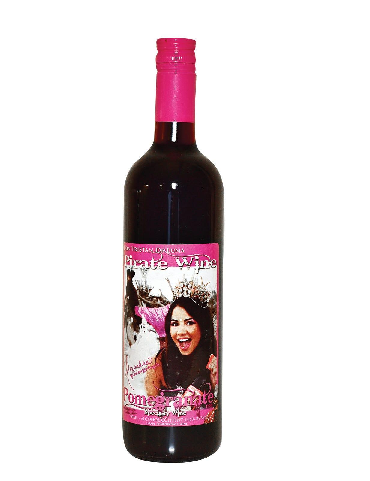 Deluna Winery Pomegranate Wine