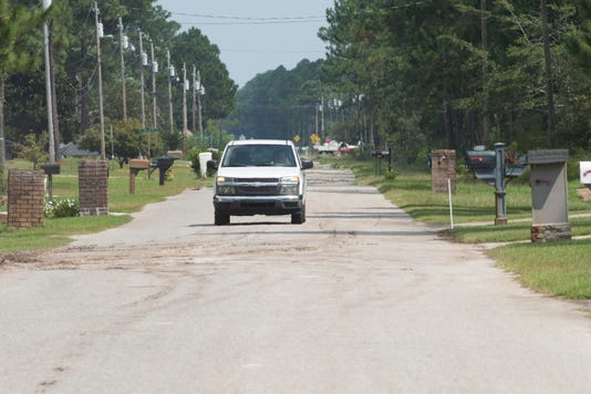 Navarre Community Access Road