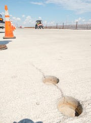 Core samples have been taken to test cracking that occurred during the construction of the new Pensacola Bay Bridge.