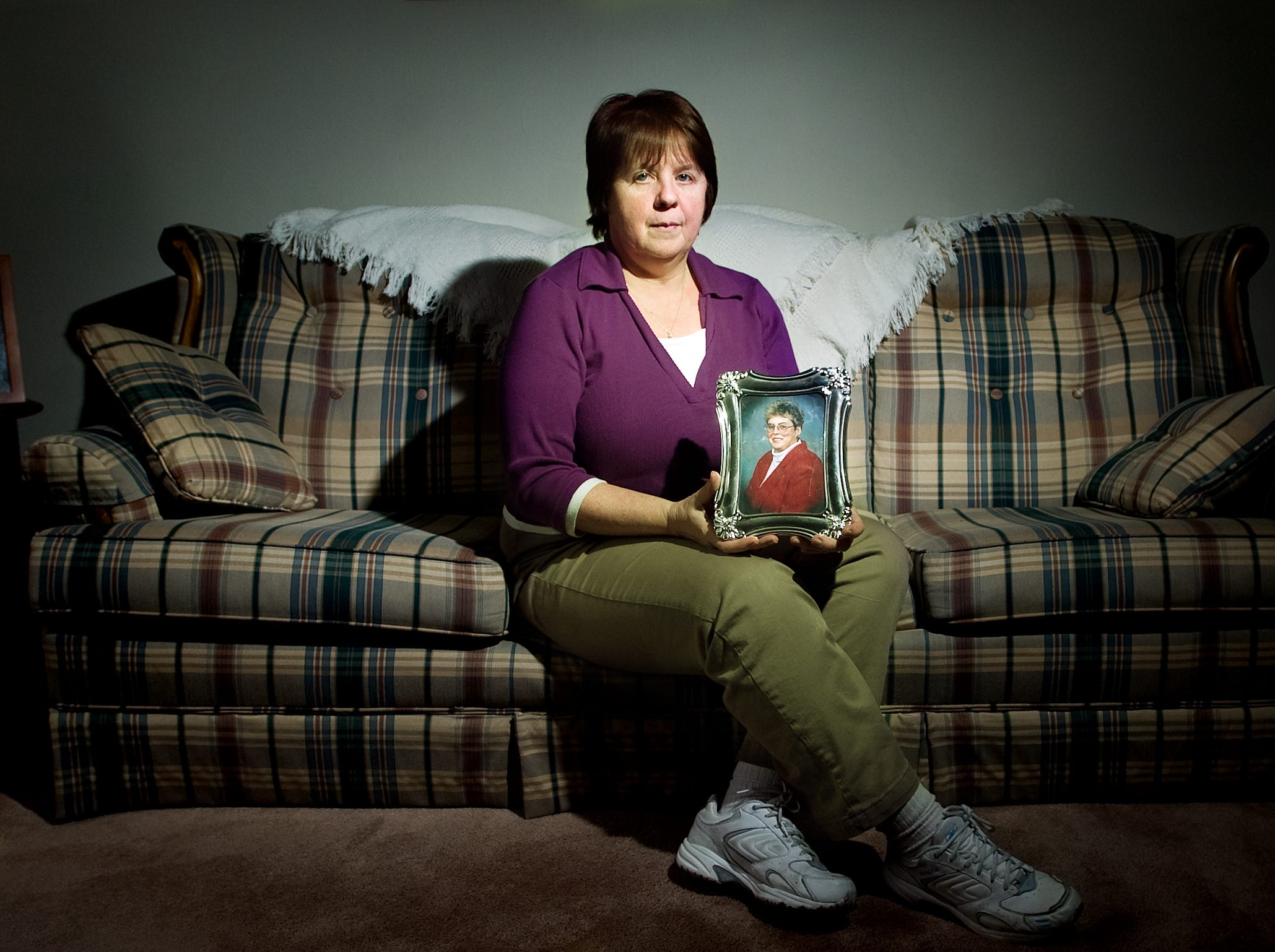 Bonnie Leister, the sister of Diane Wolf, who disappeared 19 years ago.